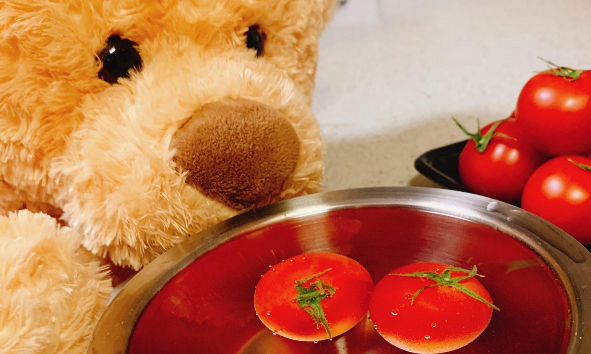 野菜の50℃洗いのやり方