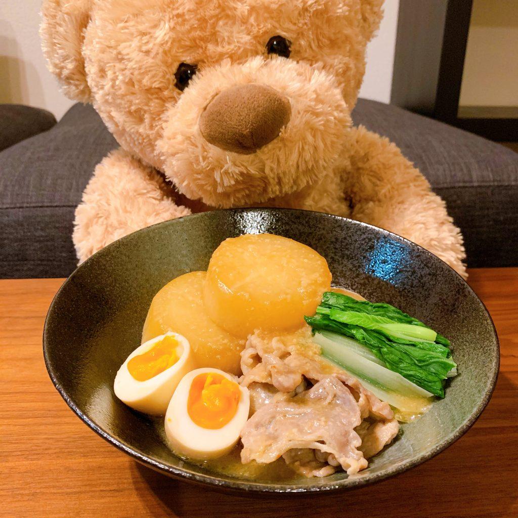 豚バラ大根の煮物