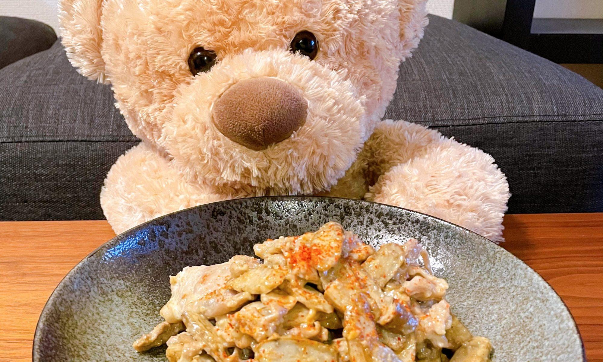 ゴボウと豚バラの味噌炒め