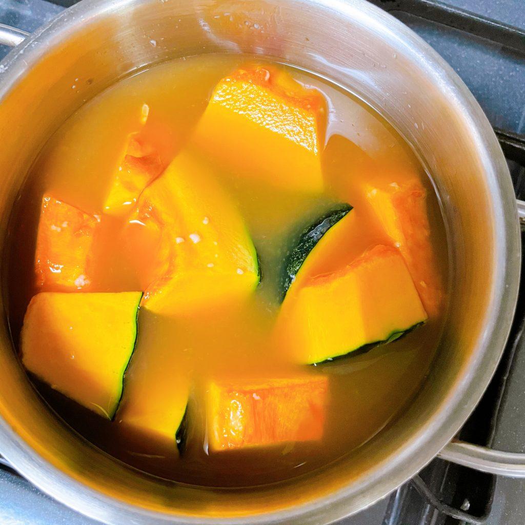 甘酒のかぼちゃの煮物